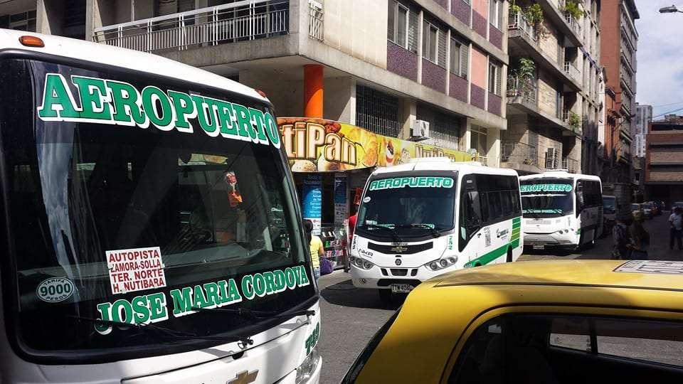 Bus Medellin Airport